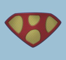 """The Letter H in the Style of """"Man of Steel"""" Kids Clothes"""