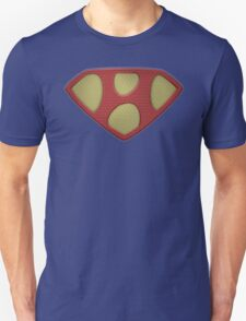 "The Letter H in the Style of ""Man of Steel"" T-Shirt"