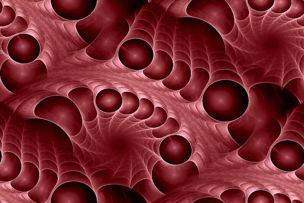 Blood Fractal by Thelma1