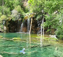 Hanging Lake, Flying Bird by elbbubder