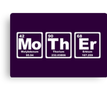 Mother - Periodic Table Canvas Print