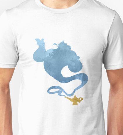 Genie Inspired Silhouette Unisex T-Shirt