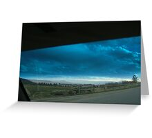 Denver weather and suburbs Greeting Card