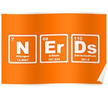 Nerds - Periodic Table Poster