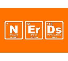 Nerds - Periodic Table Photographic Print