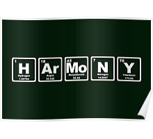 Harmony - Periodic Table Poster