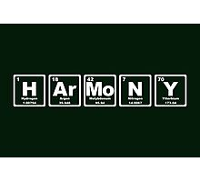 Harmony - Periodic Table Photographic Print