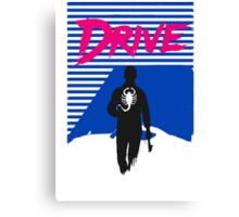 Drive Movie 80s Neon T-shirt Canvas Print