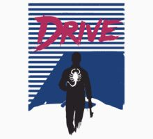 Drive Movie 80s Neon T-shirt by jimmy-rage