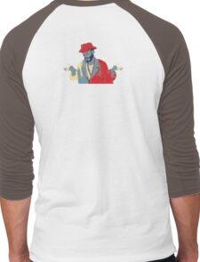 Meh Man 55B AKA Whatever 55B Men's Baseball ¾ T-Shirt