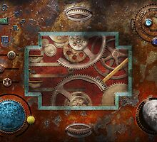 Steampunk - Pandora's box by Mike  Savad