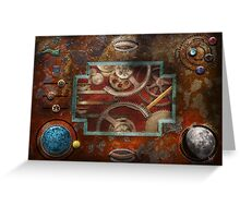 Steampunk - Pandora's box Greeting Card