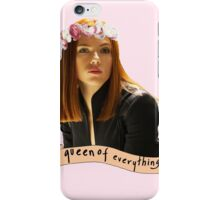 BW - Queen of Everything iPhone Case/Skin