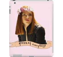 BW - Queen of Everything iPad Case/Skin