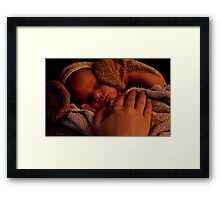 care Framed Print