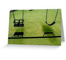 Swings Greeting Card