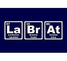 Lab Rat - Periodic Table Photographic Print