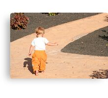 a long way to go Canvas Print