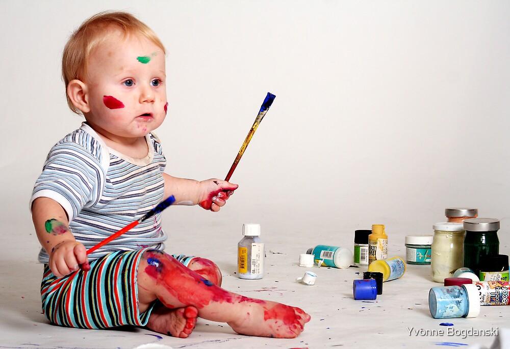 The painter by Yvonne Bogdanski