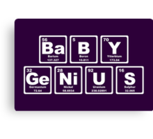 Baby Genius - Periodic Table Canvas Print