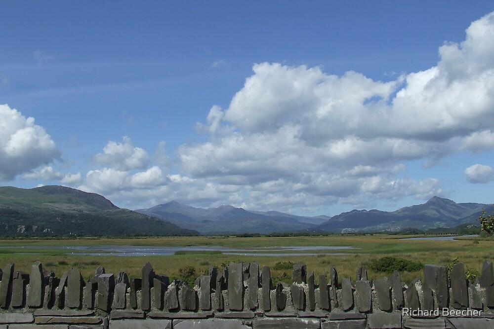 Behind Snowdonia by Richard Beecher