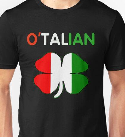 St Patricks Day Italian - O'talian T-shirts Unisex T-Shirt