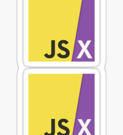 JSX - React.js & JavaScript Sticker