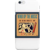 WIND IT AND PLAY IT iPhone Case/Skin