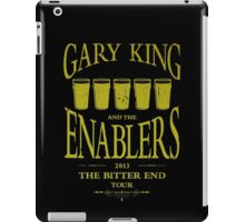 Gary King and the Enablers iPad Case/Skin