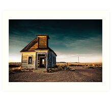 Abandoned Church. New Mexico. Art Print
