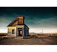 Abandoned Church. New Mexico. Photographic Print
