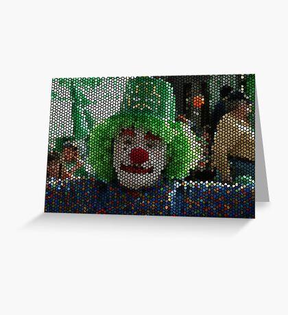 Boomer the Clown Greeting Card