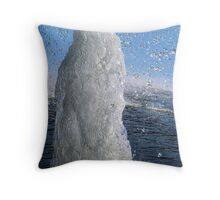 Bit Of Bubbly Throw Pillow
