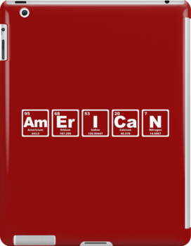 American - Periodic Table by graphix