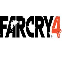 Far Cry 4 - Logo In Black by ImAvarice