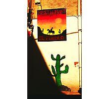 Mexican restaurant Photographic Print