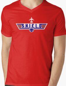 Top S.H.I.E.L.D Mens V-Neck T-Shirt