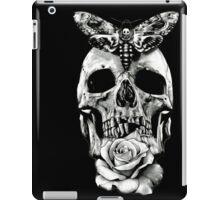 TATTOO - Butterfly on skull iPad Case/Skin
