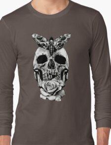 TATTOO - Butterfly on skull Long Sleeve T-Shirt