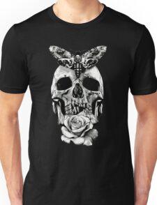 TATTOO - Butterfly on skull Unisex T-Shirt