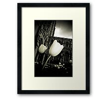 Lightness From Darkness Framed Print