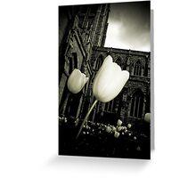 Lightness From Darkness Greeting Card