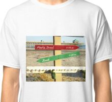 To the Beach by Jan Marvin Classic T-Shirt