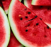 fresh watermelon by MilanGraphics