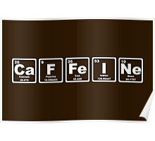 Caffeine - Periodic Table Poster
