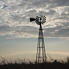 broken down windmill by Bill Knapp