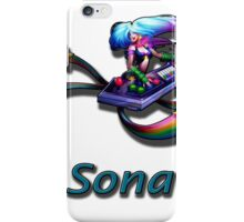 Sona- Arcade iPhone Case/Skin