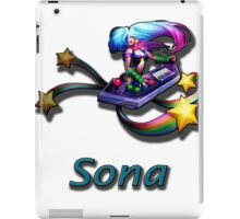 Sona- Arcade iPad Case/Skin