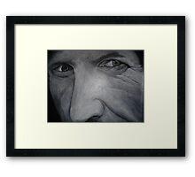 Dale Earnhardt Framed Print