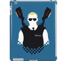 Here Come The Fuzz - Variant iPad Case/Skin